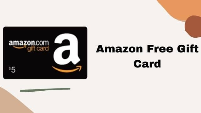 Amazon Gift Card Free October 2021: Unlimited Gift card Generator