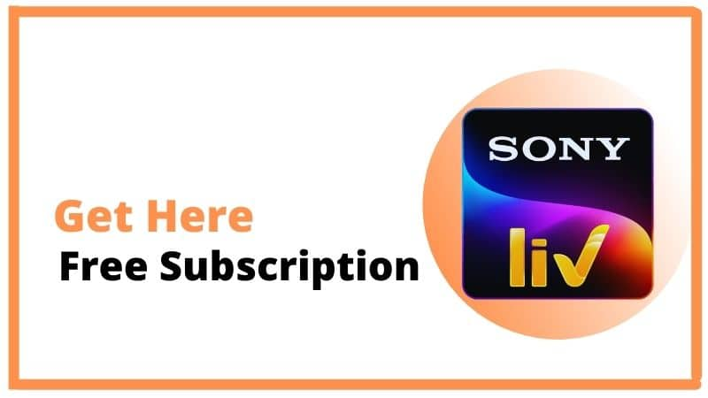 Sony Liv Premium Account Free: Get 1 Year Subscription Free