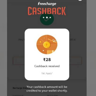 Freecharge Data Booster Offer