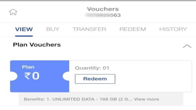 Jio double data offer