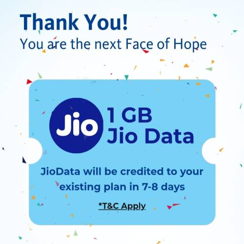 Nestle Face of Hope 1GB